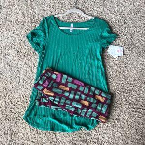 BNWT Lularoe Outfit.